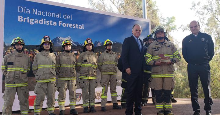 """Presidente Nacional: """"Queremos ser para CONAF su brazo armado en el combate de incendios forestales"""""""