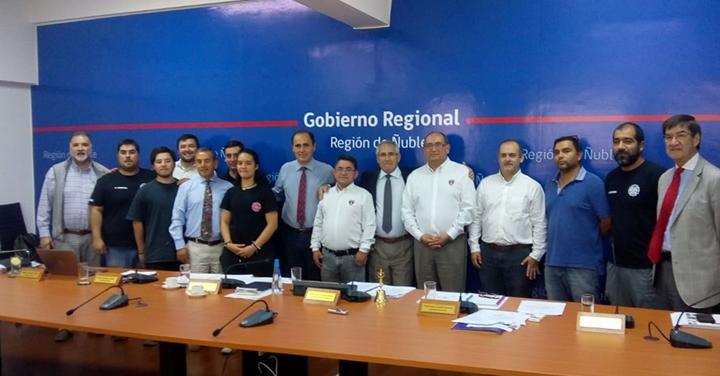 Core de Ñuble aprobó recursos para camionetas de primera intervención para bomberos