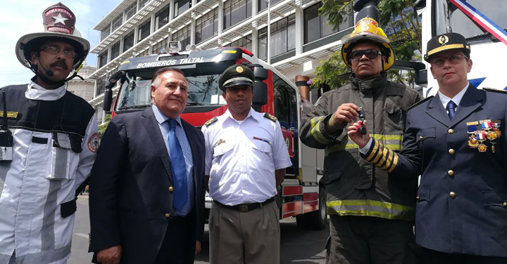 Gobierno Regional entregó nuevo equipamiento a Bomberos de la Región de Antofagasta