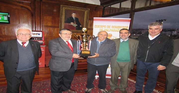 Clásico Bomberos de Valparaíso en el Sporting Club