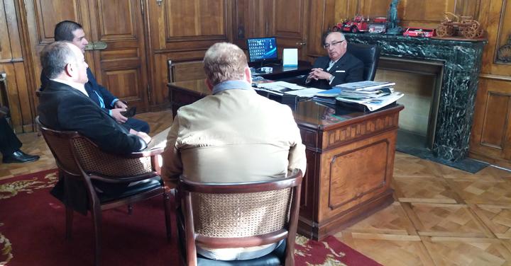 Presidente Nacional se reunió con Cuerpo de Bomberos de Curicó