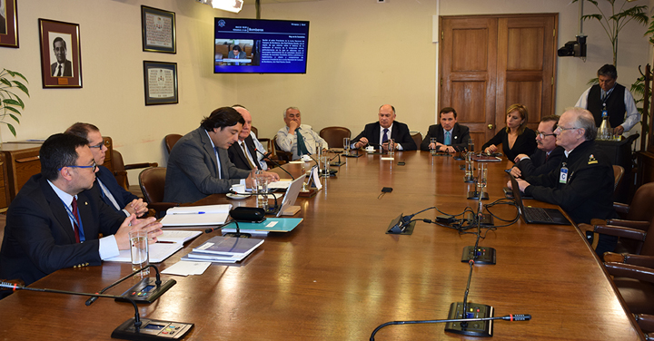 Punto Focal Operativo Nacional de Bomberos de Chile expuso ante la Comisión Bomberos
