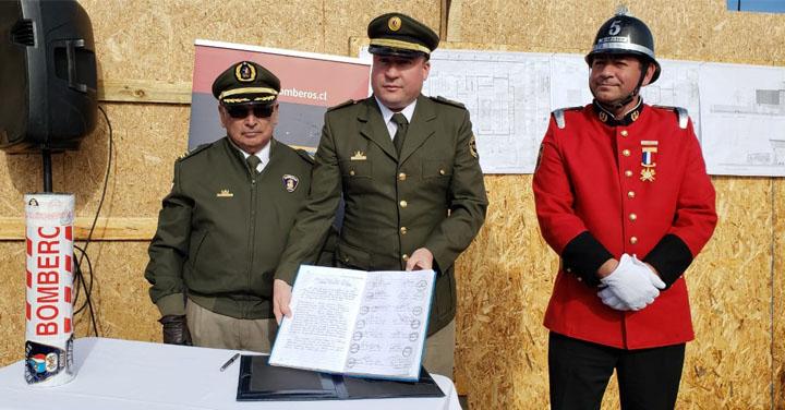 Voluntarios de Santa Olga en Constitución recuperarán su cuartel