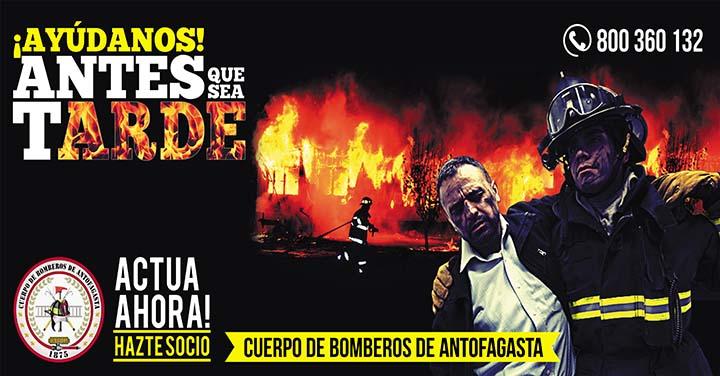 Bomberos de Antofagasta inició captación de socios