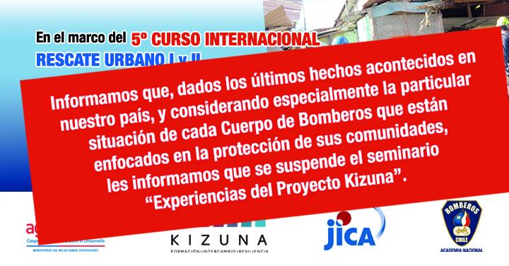 Curso Internacional Búsqueda y Rescate Urbano Kizuna concluye el 26 con actividades de cierre