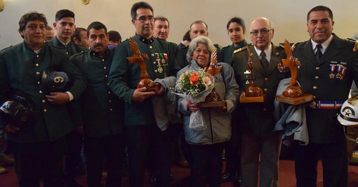 CORMA homenajeó a Bomberos de Chile con el Premio Mérito 2017