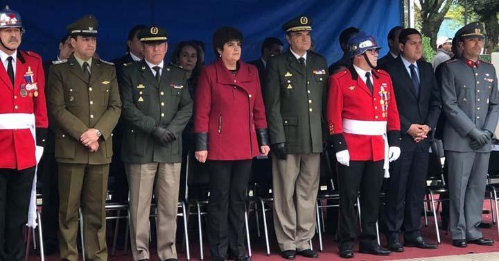 Presidente Nacional participó en el Aniversario del Cuerpo de Bomberos de Linares