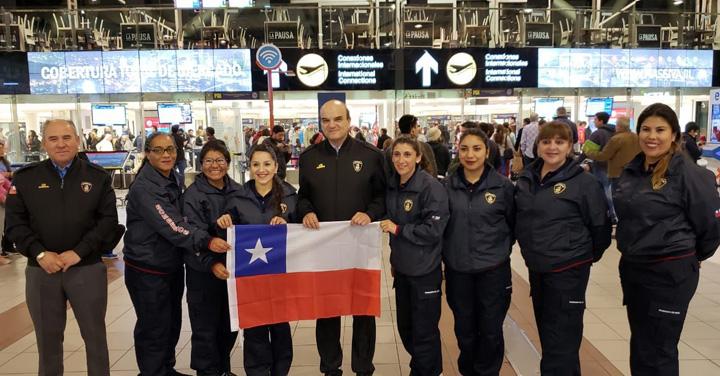 Chilenas participan en III Congreso Internacional de Bomberas en Costa Rica