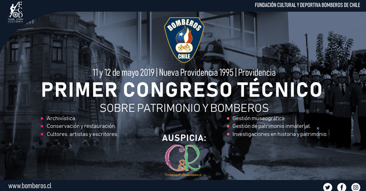 Beca de participación en Congreso Técnico sobre Patrimonio y Bomberos para asistentes de zonas extremas