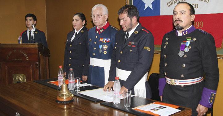Octava Compañía de Bomberos de Temuco celebró su aniversario número 38
