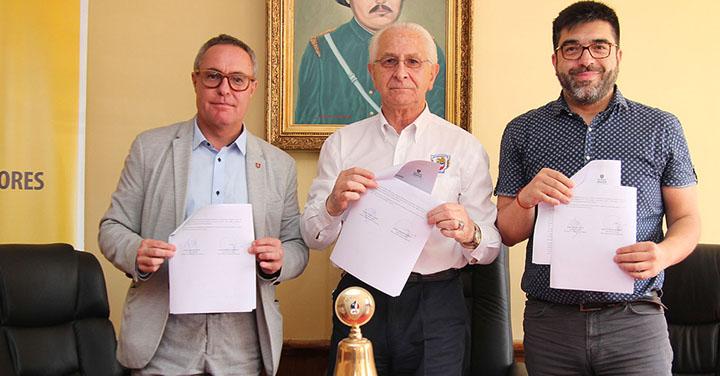 Universidad Mayor realizará evaluación de eficiencia energética en cuarteles de Bomberos de Temuco