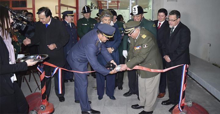 Inaugurado cuartel para la 3ª Compañía del CB de Viña del Mar