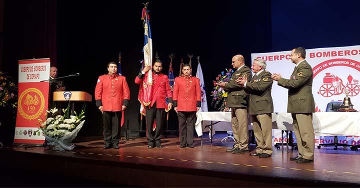 Bomberos de Copiapó conmemoraron con Sesión Solemne sus 150 años