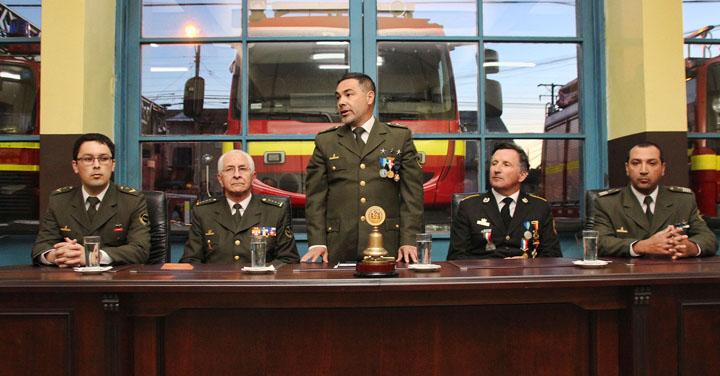 Séptima Compañía de Bomberos de Temuco celebró 49 años de existencia