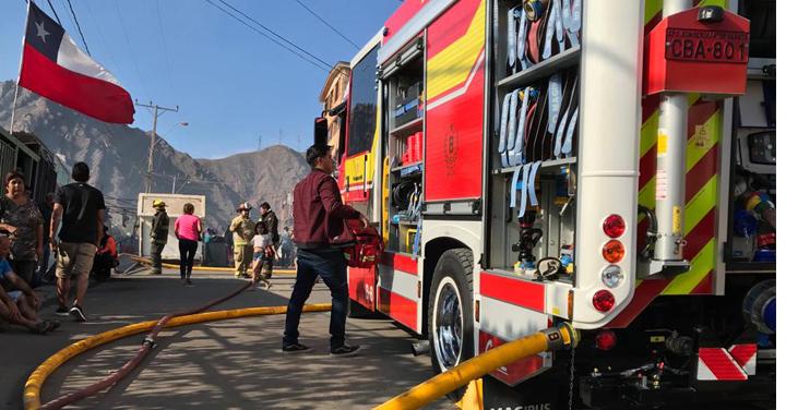 """Bomberos de Antofagasta solicita la colaboración con """"Mi campaña es por ti"""""""