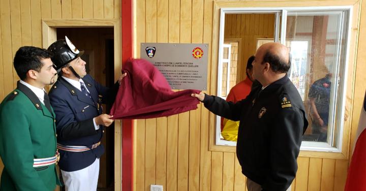 Nuevo cuartel para la Tercera Compañía del Cuerpo de Bomberos de Quellón