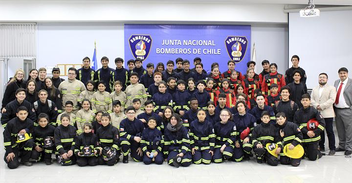 Fundación Cultural y Deportiva de Bomberos realizará II Jornada para Brigadas Juveniles