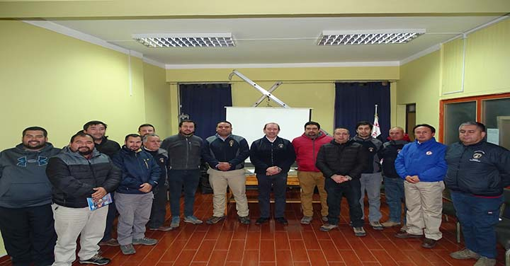 Reunión de Comandantes Área Cachapoal Sur