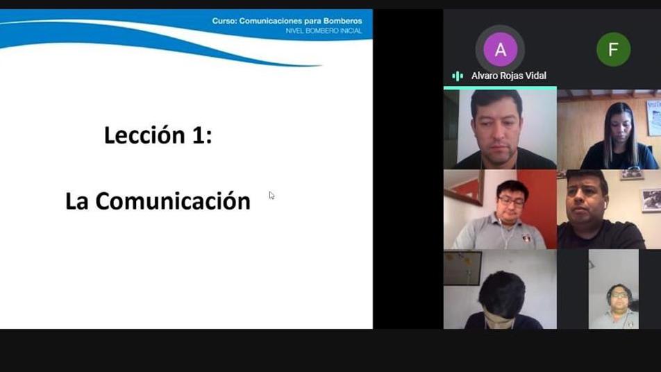 Bomberos de Iquique realizará capacitaciones Online ante pandemia