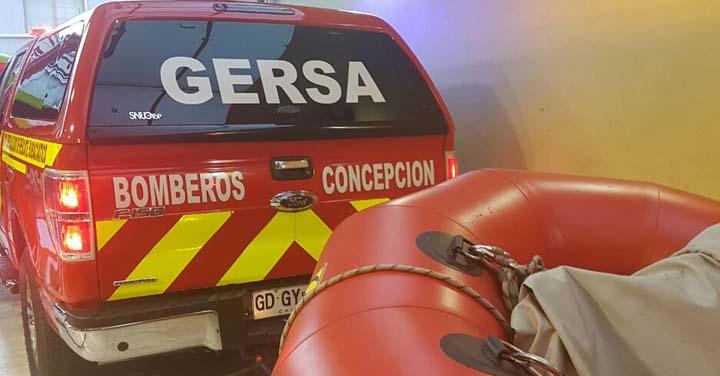 Miércoles 26 de septiembre: transmisión online acreditación del Grupo GERSA Bomberos de Concepción