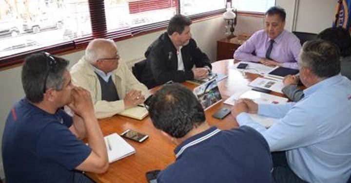 Gobernación de Aysén y Presidente Regional de Bomberos crean alianza para generar proyectos