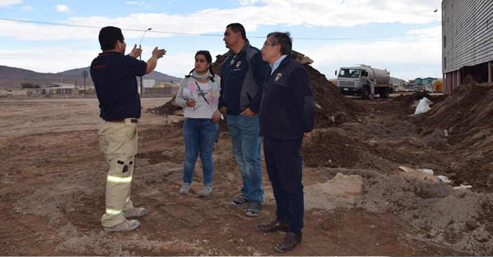 Vicepresidente Nacional recorrió Cuerpos de Bomberos de la Región de Atacama