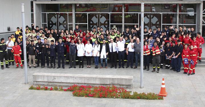 Cuerpo de Bomberos de Temuco realiza inéditas charlas a cadetes