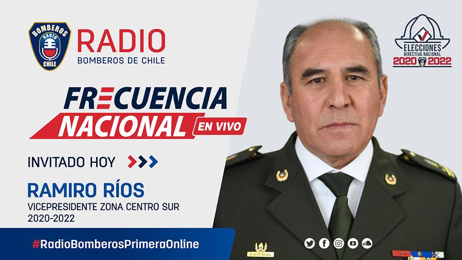Entrevista Ramiro Ríos Fuentes, electo Vicepresidente Nacional Zona Centro Sur