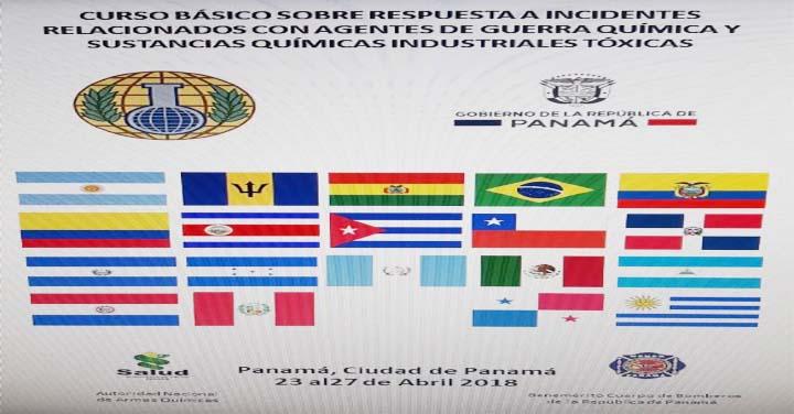 Bombero penquista se capacita en Panamá y Argentina