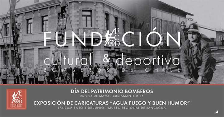 Día del Patrimonio Cultural en Bomberos de Chile