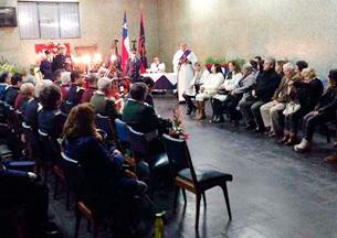 Funerales del bombero más antiguo de Valparaíso