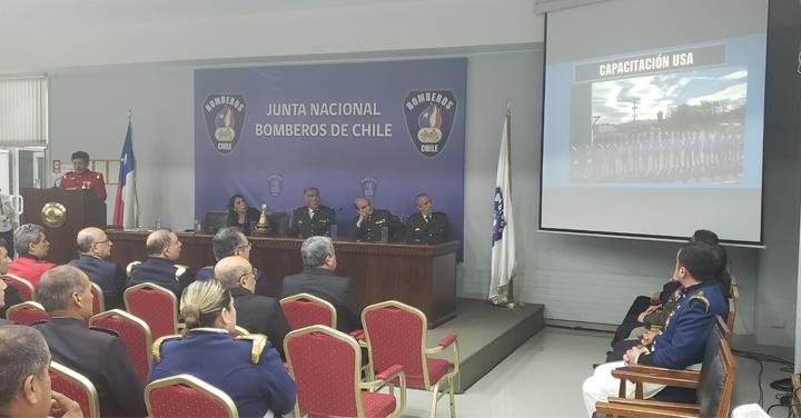 Consejo Regional de Bomberos Metropolitano entregó cuenta anual