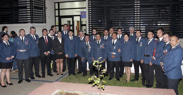 Novena Compañía de Bomberos cumplió 30 años en la localidad de Quepe