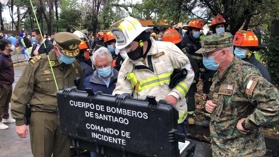 Incendio de Hospital San Borja ya se encuentra controlado