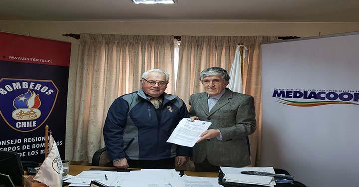 Consejo Regional de Los Ríos firmó convenio para difundir campañas de prevención