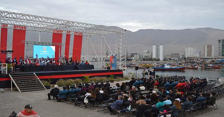 Cuerpo de Bomberos  de Iquique conmemoró 143 años de vida institucional