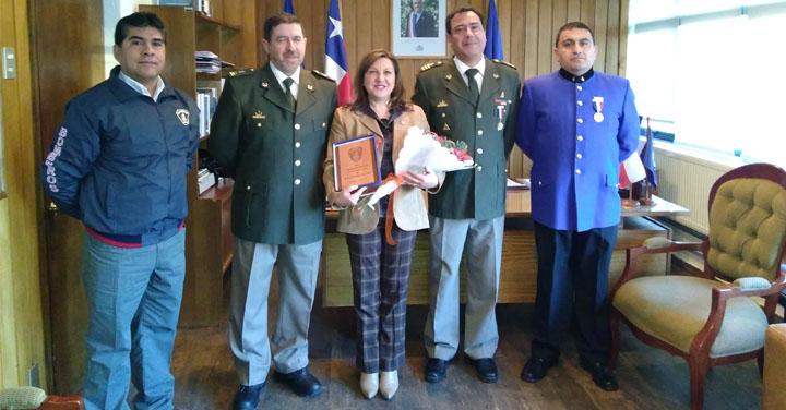 Presidente Regional de Aysén se reunió con Intendenta Navarrete