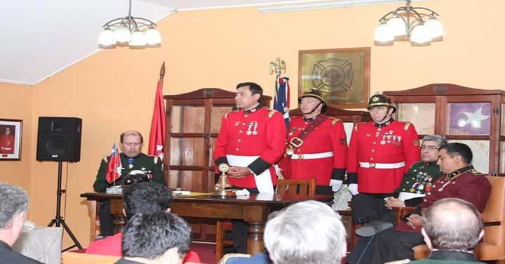 Sexta Compañía de Rancagua celebró 47 años de su fundación