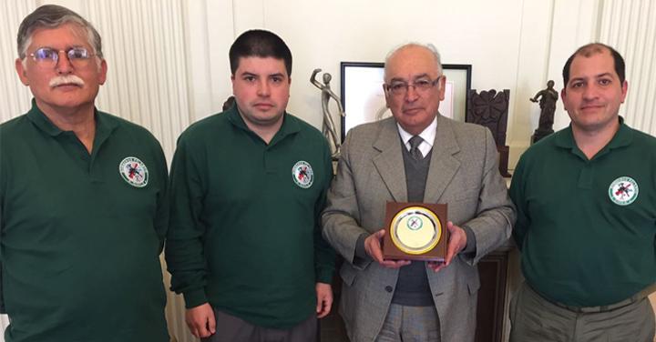 Delegación de Pelarco visitó a Presidente Nacional