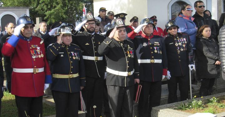 Cuerpo de Bomberos de Valdivia lamenta fallecimiento de su voluntario más antiguo
