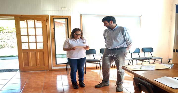 Quinta Compañía  de Cañete recibió aporte para mejoramiento de su cuartel