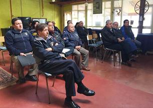 Superintendentes de la Provincia de Valdivia se reunieron en la comuna de Corral