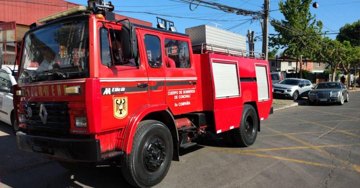 Cuarta Compañía de Lautaro recibe carro gracias a reasignación de material mayor