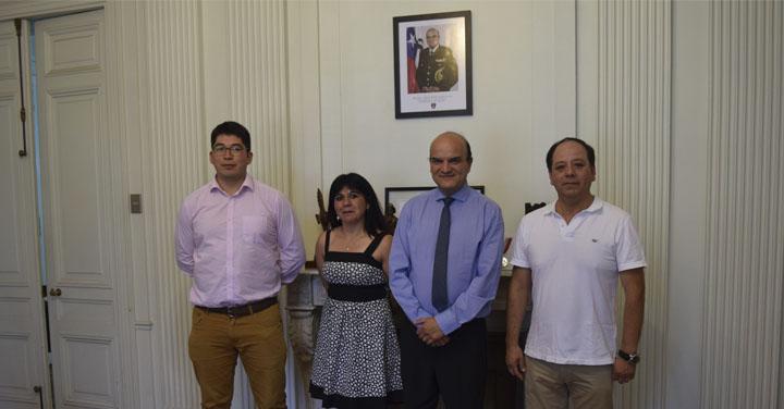 Presidente Nacional recibió a los Cuerpos de Bomberos de Cañete, Collipulli y Metropolitano Sur
