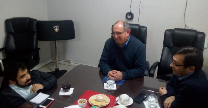 Consejo Regional de Bomberos de Ñuble gestiona terreno para su sede