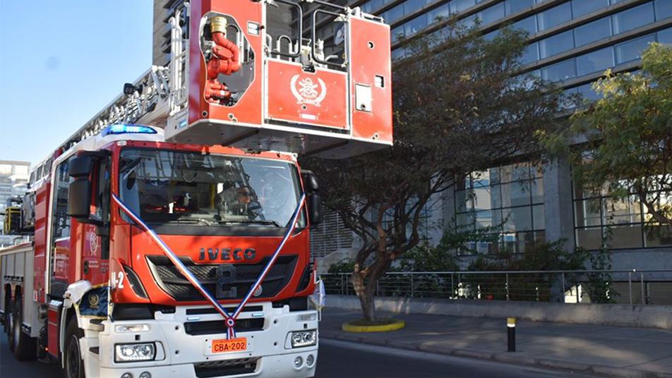 Antofagasta recibió una nueva sala de máquinas y material mayor para la Segunda Compañía