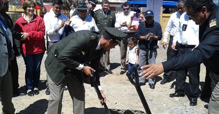 Bomberos de Huara contarán con nuevo cuartel