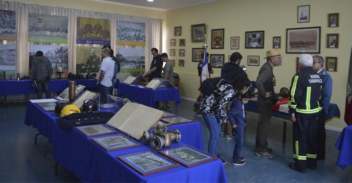 Cuerpo de Bomberos de Iquique participó del Día del Patrimonio Cultural 2018